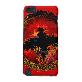 Bat on Fire Art iPod Touch (5th Generation) Cover