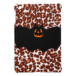Bat On Leopard Spot Background iPad Mini Case