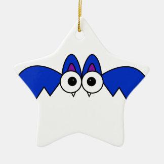 Bat Ceramic Star Decoration