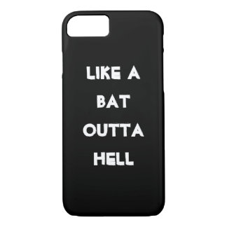 Bat out of Hell iPhone 7 iphone funny humor wild 2 iPhone 7 Case