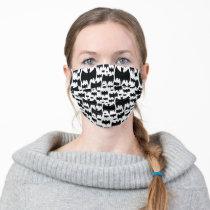 Bat Pattern Adult Cloth Face Mask