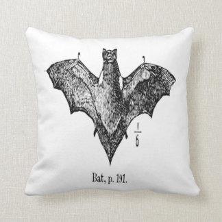 "Bat Polyester Throw Pillow 16"" x 16"""