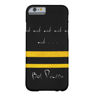 Bat Princess CricketDiane Black Gold Goth Barely There iPhone 6 Case