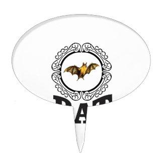 bat ring cake topper