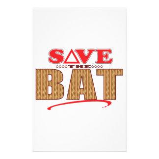Bat Save Stationery