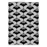Bat Silhouette Card