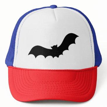 Halloween Themed Bat Silhouette Trucker Hat