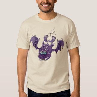 Bat Sinking its Fangs into Fresh Flesh T Shirt