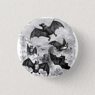 Bat Sketch Pinback Button