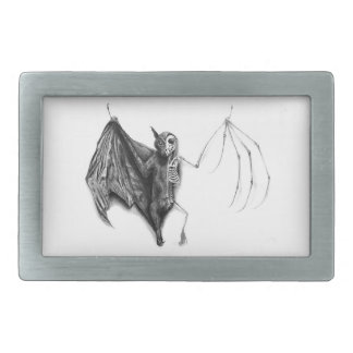 Bat Specimen Rectangular Belt Buckle
