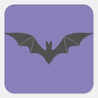 Bat Square Sticker