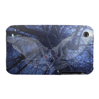 BAT Stormy Night Scary Creepy Gothic Halloween iPhone 3 Case-Mate Case
