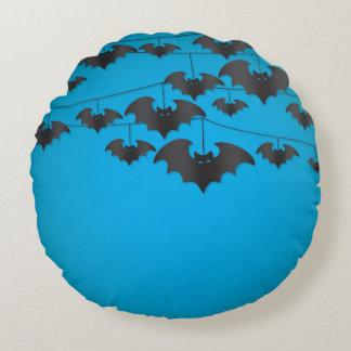 Bat string round pillow