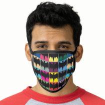 Bat Symbol Grid Pattern Face Mask