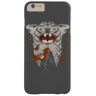 Bat Symbol Ribcage Vintage Collage Barely There iPhone 6 Plus Case