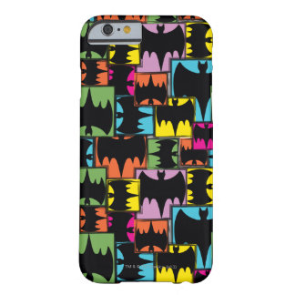 Bat Symbol Squares Pattern Barely There iPhone 6 Case