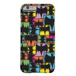 Bat Symbol Squares Pattern iPhone 6 Case