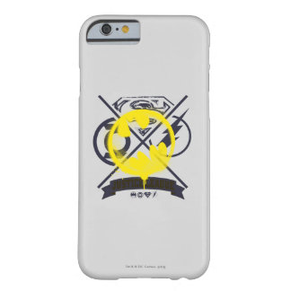 Bat Symbol Tagged Over Justice League Barely There iPhone 6 Case