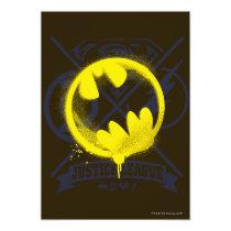 invitations, batman, bat man, dia de los muertos, day of the dead, monthly trend, dc comics, decorated skull, bat cowl, warner brothers, Invitation with custom graphic design