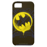 Bat Symbol Tagged Over Justice League iPhone 5 Case