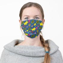 Bat Symbols Pattern Adult Cloth Face Mask