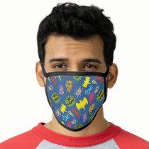 Bat Symbols Pattern Face Mask