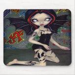 Bat Tattoos tribal tattoo urban fairy Mousepad