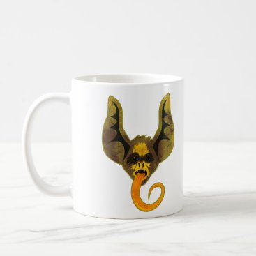 Halloween Themed Bat Tongue Coffee Mug