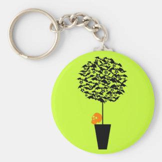Bat Topiary Keychain