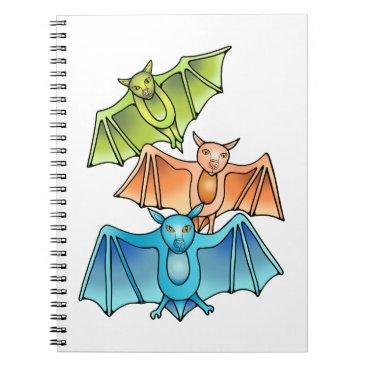 Bat Trio Notebook