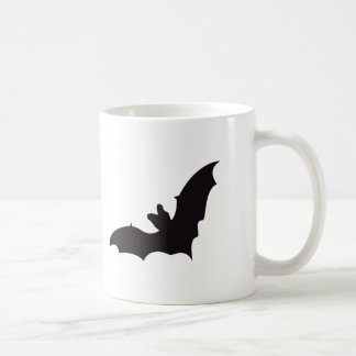 Bat Vintage Wood Engraving Coffee Mug