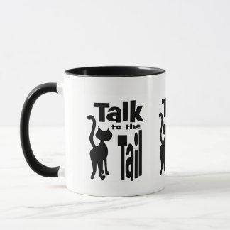 Bat Walking Away Talk to the Tail Mug