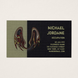 Bat Wings ~ Linen Paper Business Cards