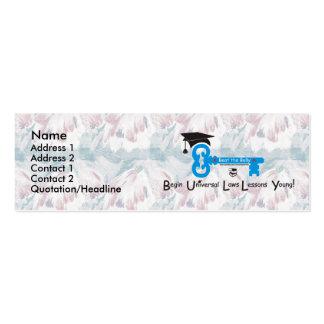 Bata al matón - modificado para requisitos particu plantillas de tarjetas personales