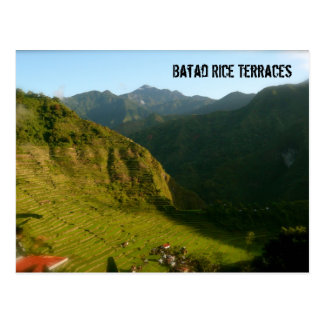 Batad Rice Terraces Postcard