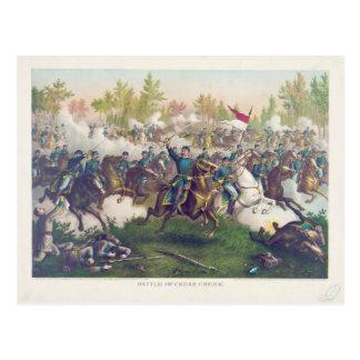 Batalla americana de la guerra civil de Cedar Postal