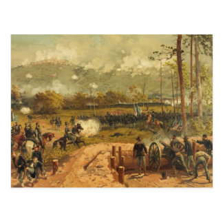 Batalla americana de la guerra civil de la montaña postal
