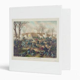"""Batalla americana de la guerra civil del fuerte Do Carpeta 1"""""""