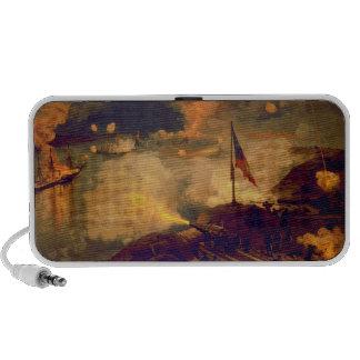 Batalla americana de la guerra civil del puerto el iPod altavoces