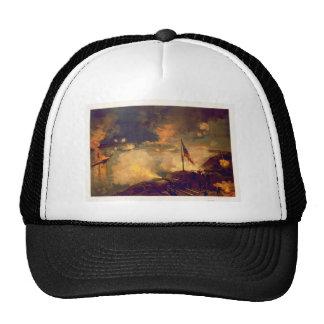 Batalla americana de la guerra civil del puerto el gorros