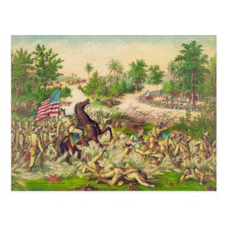 Batalla americana filipina de la guerra de Quingua Postal