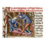 Batalla crónicas de Gómez Martin El Cid 'de Tarjeta Postal