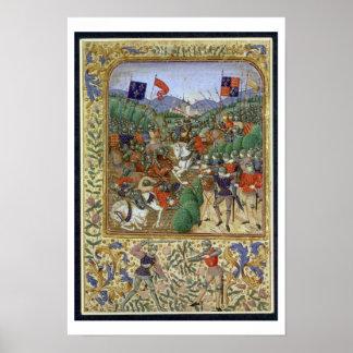 Batalla de Agincourt, el 25 de octubre de 1415 (w/ Posters