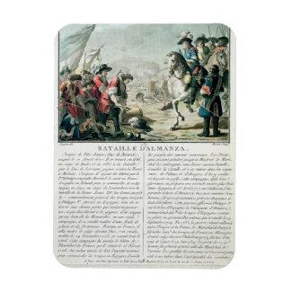 Batalla de Almansa, el 25 de abril de 1707, grabad Imán