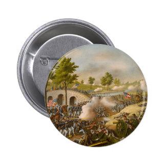 Batalla de Antietam--Ejército del Potomac Pin Redondo 5 Cm