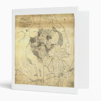 """Batalla de Antietam mapa el 16 de septiembre y 17 Carpeta 1"""""""