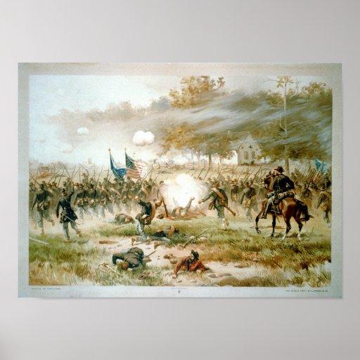 Batalla de Antietam Póster