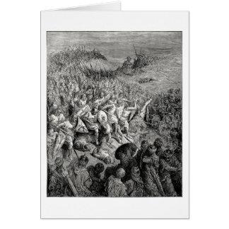 Batalla de Arsuf Tarjeta De Felicitación