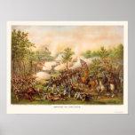 Batalla de Atlanta de Kurz y de Allison 1864 Póster
