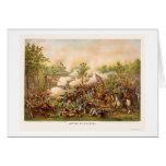 Batalla de Atlanta de Kurz y de Allison 1864 Tarjeta